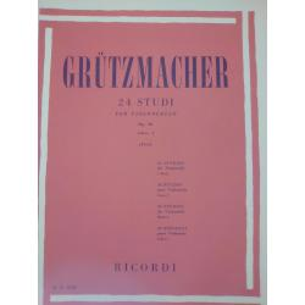 Friedrich Grützmacher – 24 Studi per Violoncello (Op. 38). Libro I