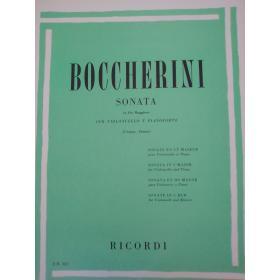 Luigi Boccherini – Sonata (in Do Maggiore) per Violoncello e Pianoforte