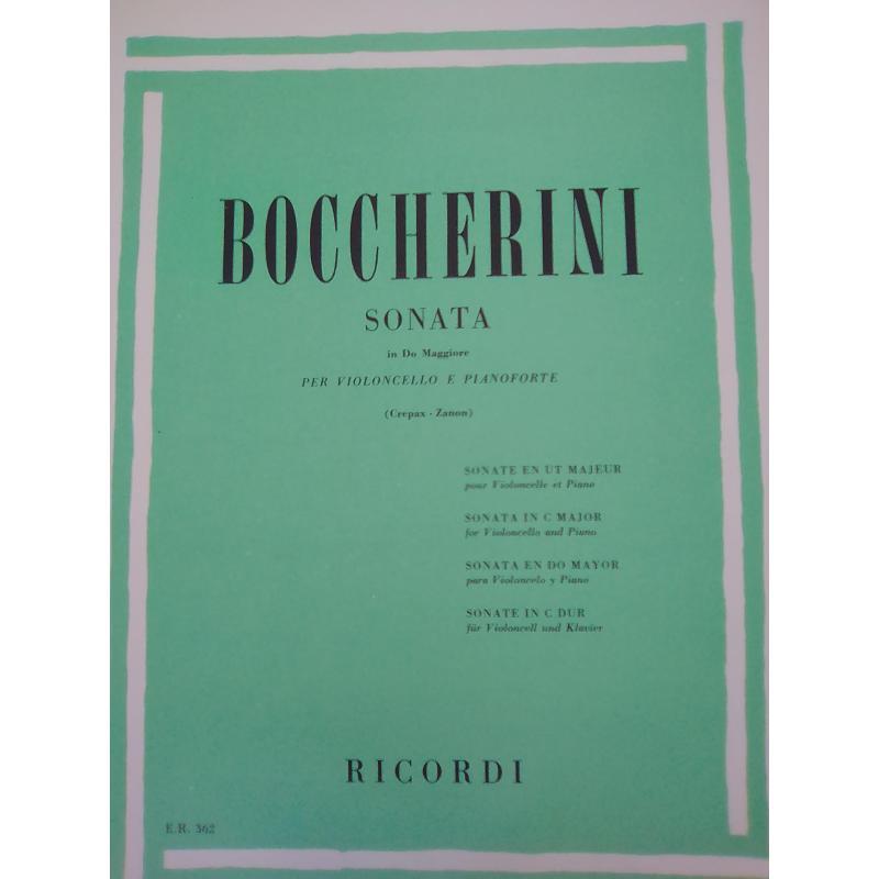 Boccherini – sonata in do maggiore