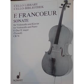 F.Francoeur – sonate fur violoncello und klavier