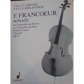 François Francoeur – Sonate für Violoncello und Klavier