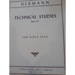 Friedrich Hermann – Technical Studies (Op. 22)