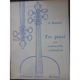 USATO: Attilio Ranzato – Tre Pezzi per Violoncello e Pianoforte