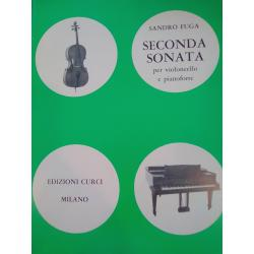 Sandro Fuga – Seconda Sonata per Violoncello e Pianoforte