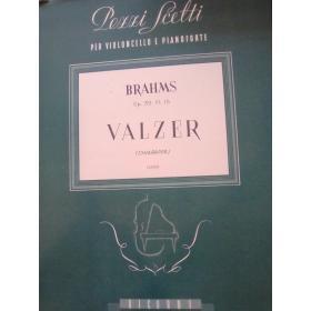 Johannes Brahms – Valzer Op. 39 (N. 15)