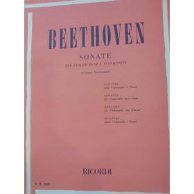 Ludwig van Beethoven – Sonate per Violoncello e Pianoforte