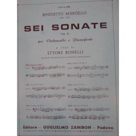 Benedetto Marcello – Sei Sonate (Op. 2). Sonata I