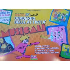 Paola Bertassi – Quaderno delle Attività Musicali (Livello 2)