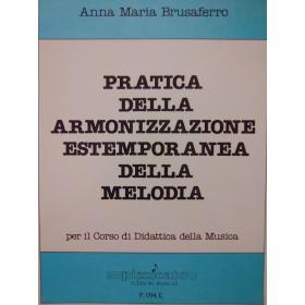 Anna Maria Brusaferro – Pratica della armonizzazione estemporanea della melodia