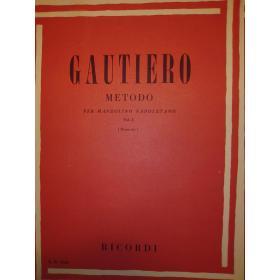 Gautiero – Metodo per mandolino napoletano vol 1