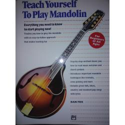 Dan fox – Teach yourself to play mandolin