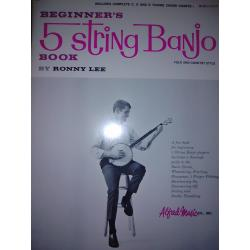 Ronny lee – beginner's 5 string banjo.
