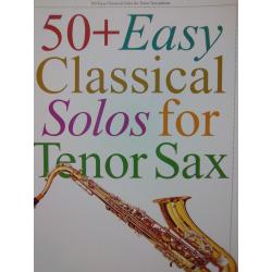 AAVV – 50 + easy classical solos for tenor sax