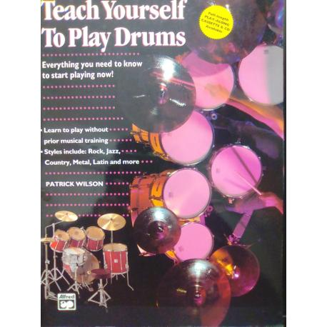 Patrick Wilson – Teach yoursel to play drums