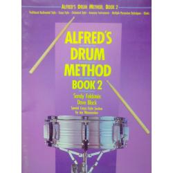 Sandy feldstein Dave black – alfred's drum method book 2