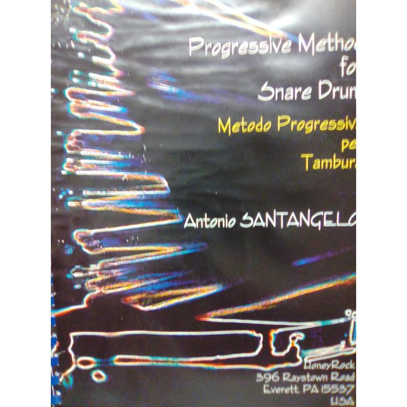 Antonio Santangelo – Metodo progressivo per tamburo