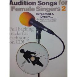 AAVV – Audition songs for female singers 2