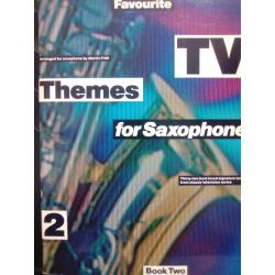 AAVV – Favorite tv themes for saxophone book two