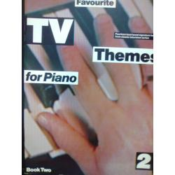 AAVV – Favorite tv themes for piano book two