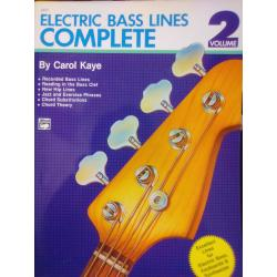 Carol kaye – electric bass lines complete volume 2