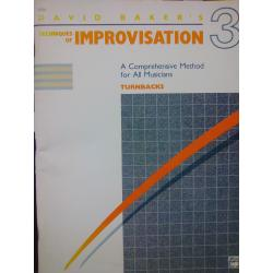 David Baker's – techniques of improvvisation vol 3