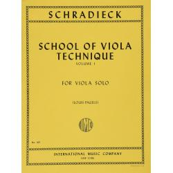 Heinrich Schradieck - School of Viola Technique (Vol. 1)