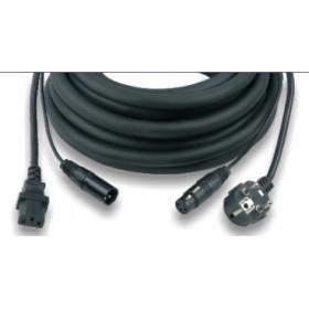 CAVO PHONO-RETE PF100-10 PER CASSE ATTIVE (3x1,5mm - 10 mt)