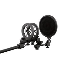 Microphone suspension holder & POP Filter system SM82