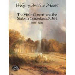 Mozart - The violin concerti and the sinfonia concertante,k364