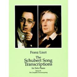 Liszt - The Schubert Song trascriptions serie 3