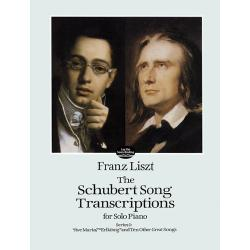 Lisz - The Schubert song trascription series 1