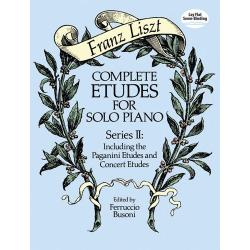 Lisz - Complete etudes for solo piano
