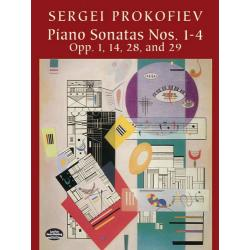 Prokofiev - Piano sonatas nos.1-4 opp.1,14,28,and 29