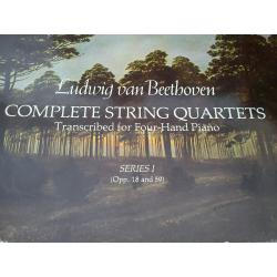 Beethoven - complete string quartets series 1