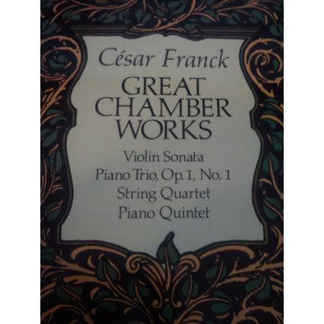 Franck - Great chamber works