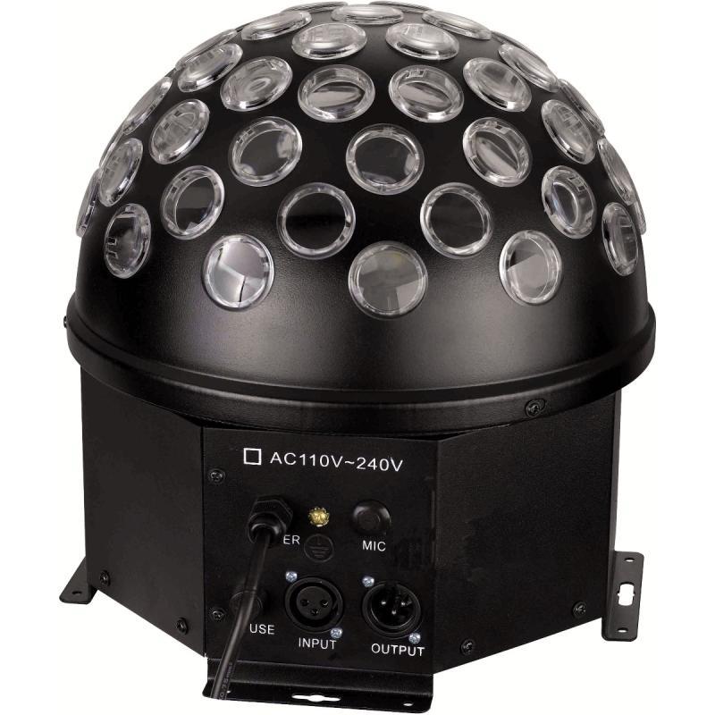 CRYSTAL BALL A LED SOUNDSATION CB540-3W