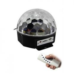 CRYSTAL BALL A LED SOUNDSATION CB140