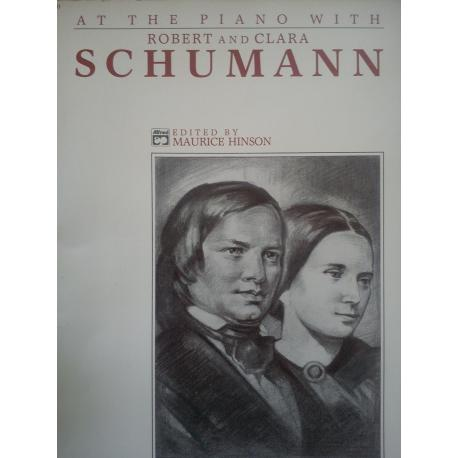 At the piano with Rober and Clara Schumann