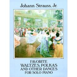 Srauss jr-favorite waltzes,polkas and other dances for solo piano