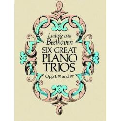 Beehoven - Six great piano trios