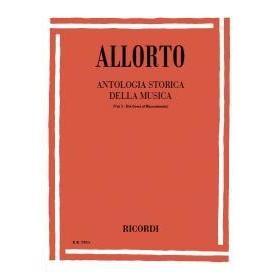 Allorto - Antologia storica della musica vol 1