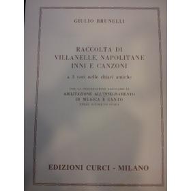 Brunelli - Raccoltsa di Villanelle,napolitane inni e canzoni