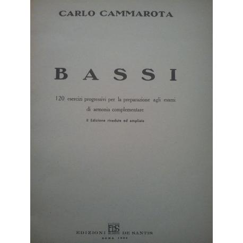 Cammarota - Bassi