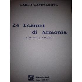 Cammarota - 24 lezioni di armonia