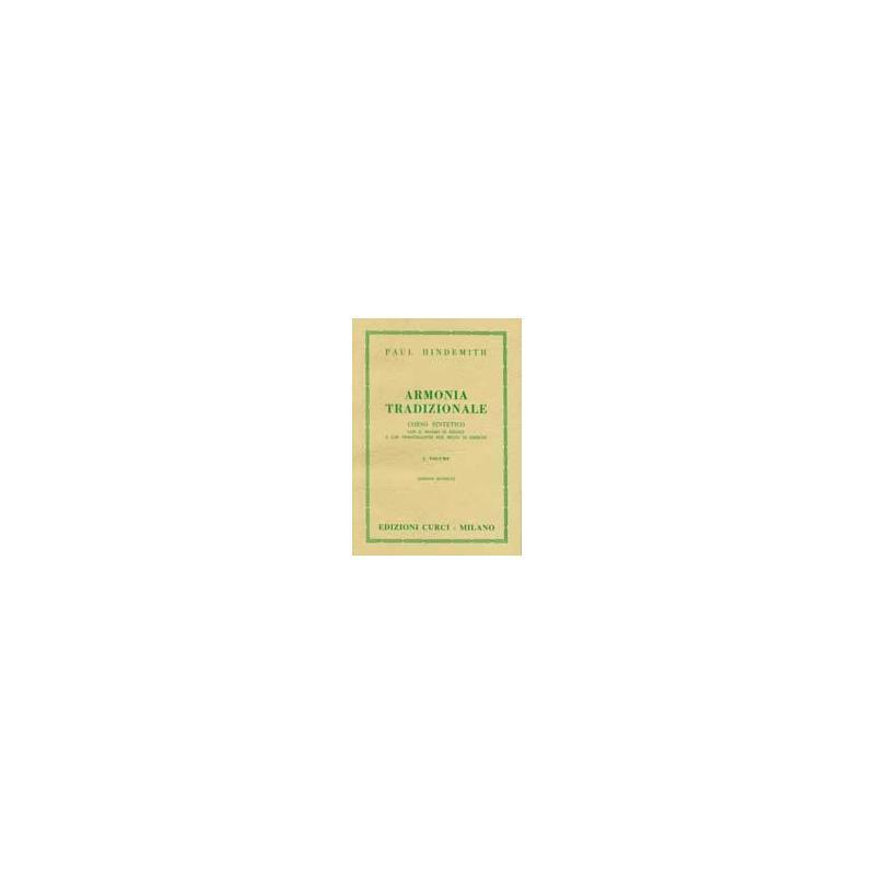 Hindemith - armonia tradizionale volume 1