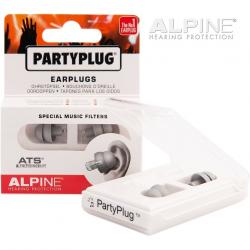 SET EARPLUG ALPINE PARTYPLUG SILVER EDITION