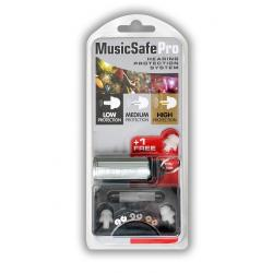SET EARPLUG ALPINE MUSICSAFE PRO CON FILTRI ATTENUAZIONE WHITE EDITION
