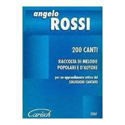 Angelo Rossi - 200 canti