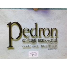 Pedron - Solfeggi manoscritti prima serie