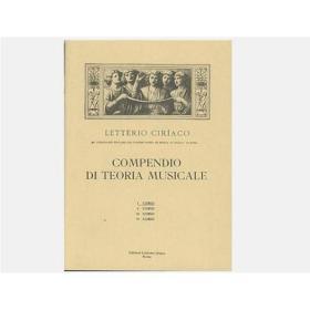 Ciriaco - compendio di teoria musicale 1 corso